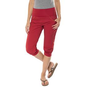 Ocun Noya Shorts Women Red/Yellow